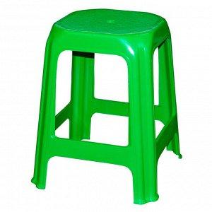 Табурет пластиковый зеленый М1370