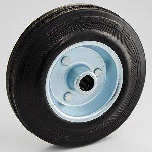Колесо промышленное без опоры O125х32мм 90 кг ТД11-13К/125-90 черная литая резина