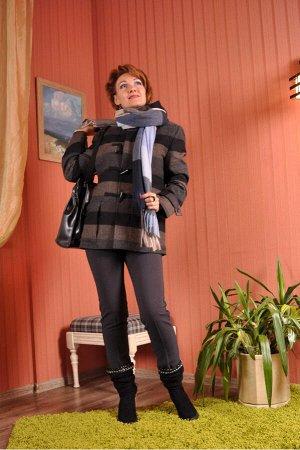 """Брюки Прямые узкие брюки с высокой посадкой.Кокетка делает идеальным прилегание по талии. Информация о размерах: """"В""""-Высота посадки (измеряют от промежности вверх до верхней точки пояса), """"ОП""""-Объем п"""