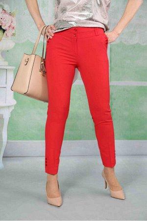Брюки  Эти прямые и узкие укороченные брюки приятны во всех отношениях.Модель представлена и в летних,и в демисезонных тканях,прекрасно зарекомендовала себя.Отличная посадка по фигуре,со вкусом выпол
