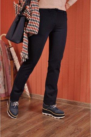Брюки  Теплые прямые брюки с высокой посадкой и идеально скроенной кокеткой сзади.Эта модель прекрасно зарекомендовала себя в разных тканях и порадует тех,кто любит безупречное облегание в области та