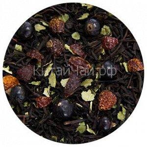 Чай черный - Черный со смородиной - 100 гр