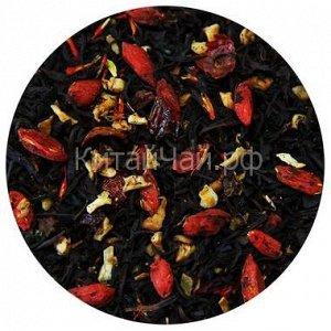 Чай черный - с Ягодами Годжи - 100 гр