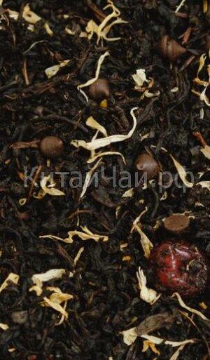 Чай черный - Вишня в шоколаде - 100 гр