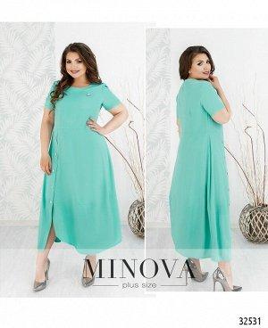 Платье №8-158-ментол