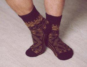Носки шерстяные N6R62-1.