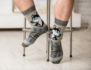 Носки шерстяные N6R165-1.