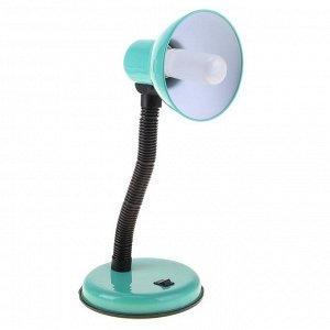 Лампа настольная Е27. с выкл. (220В) зеленая (203В)