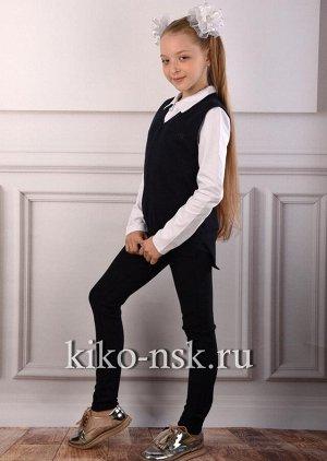 15136 Брюки школьные для девочки YUKE