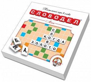 Настольная игра Десятое королевство Словодел Мини, картонный, белый36