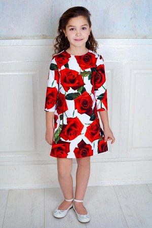 """Платье """"Ангелина"""",цветной"""