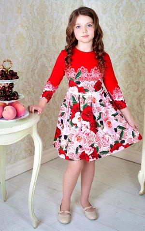 """Платье """"Лючия"""",бордово-розовый"""