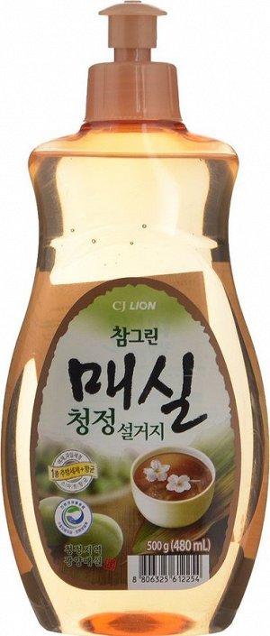 Средство для мытья посуды Чамгрин японская слива 500г (бутыль) (2013) пуш-пул