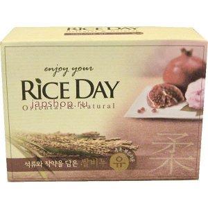 Мыло т. LION Korea RICE DAY 100гр Экстракт Граната- лотоса