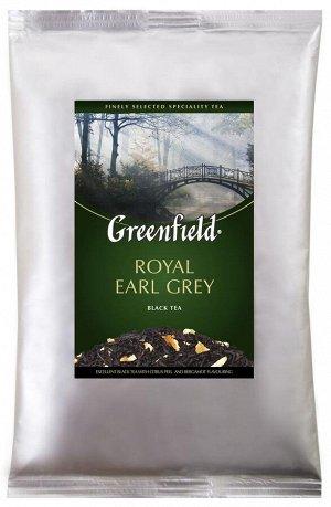 Черный чай листовой Greenfield Royal Earl Grey с бергамотом, 250 г