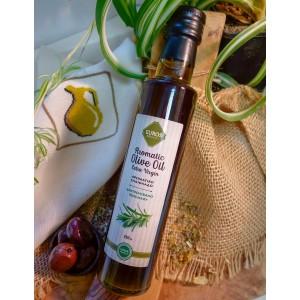 Оливковое масло с розмарином EVROS, ст.бут., 250мл