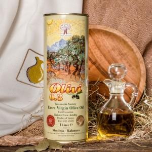 Оливковое масло фермерское Olivi, Греция, жест.банка, 1л