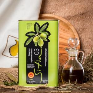 Оливковое масло P.D.O. Sitia 03, о.Крит, жест.банка, 1л