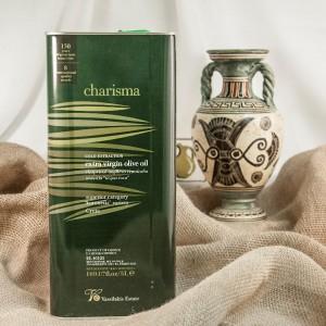 Оливковое масло Charisma, Восточный Крит, Греция, жест.банка, 5л