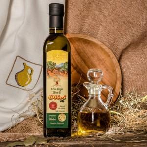 Оливковое масло фермерское Olivi, ст.бут., Греция, 500мл