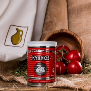 Томатная паста Kyknos, Греция, жест.банка, 410г