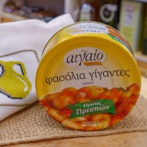 Фасоль гигантская запечённая в томат.соусе Aigaio, Греция, ж/б, 280г