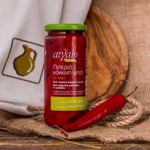 Перец красный печеный сладкий Aigaio, Греция, ст.банка, 450г