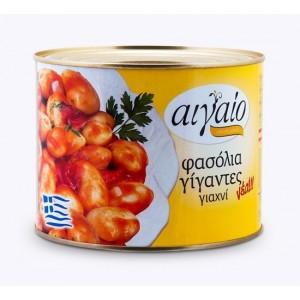 Фасоль гигантская запечённая в томат. соусе Aigaio, Греция, ж/б, 2кг