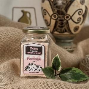 Соль розовая Гималайская крупная, ст.банка, 250г