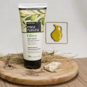 Скраб для тела MEA Natura Olive, 200мл