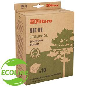 Filtero SIE 01 (10+фильтр) ECOLine XL, бумажные пылесборники