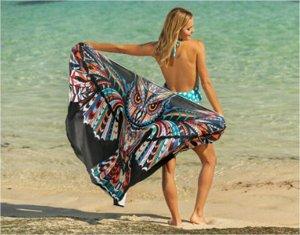 Пляжное платье-юбка