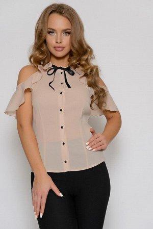 0209 БЛУЗА Длина блузы измеряется по переду от основания шеи до линии низа изделия. Для размеров 42, 44, 46 длина блузы составляет 56 см, для размера 48 - 57 см, для размера 50 - 58 см, для размера 52