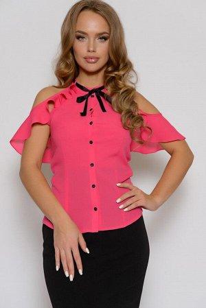 0210 БЛУЗА Длина блузы измеряется по переду от основания шеи до линии низа изделия. Для размеров 42, 44, 46 длина блузы составляет 56 см, для размера 48 - 57 см, для размера 50 - 58 см, для размера 52