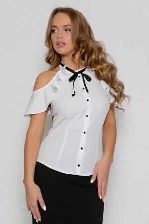 0211 БЛУЗА Длина блузы измеряется по переду от основания шеи до линии низа изделия. Для размеров 42, 44, 46 длина блузы составляет 56 см, для размера 48 - 57 см, для размера 50 - 58 см, для размера 52