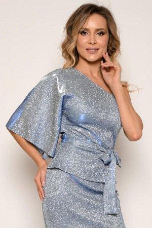 0387 БЛУЗА Длина блузы измеряется по спинке (по правому плечу) от основания шеи до низа изделия. Для размера 42 длина блузы составляет 55 см, для размера 44 - 56 см, для размера 46 - 57 см, для размер