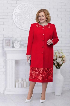 Жакет, платье Ninele Артикул: 7226 красный