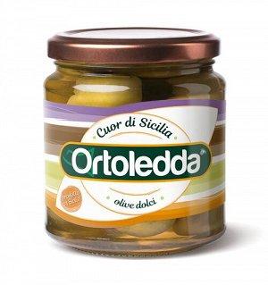 """Olive dolci S.mammouth"" Оливки зелен.крупные"