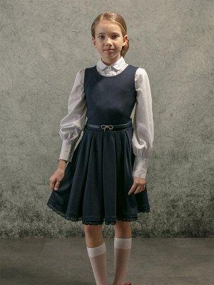 Сарафан трикотажный для девочек (152-76-63)