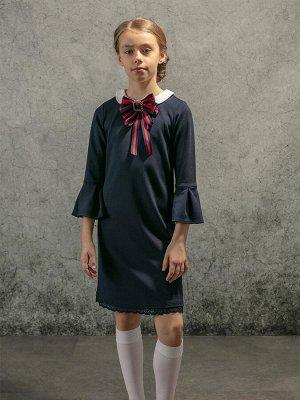 Платье трикотажное для девочек (128-64-54)