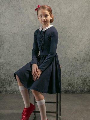 Платье трикотажное для девочек (146-72-60)