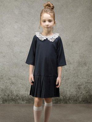 Платье текстильное для девочек (140-68-60)