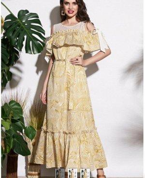 Платье-сарафан А-образного силуэта