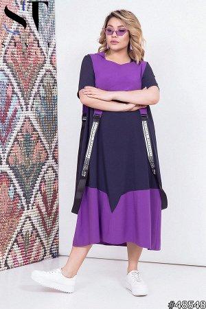 Платье двойка 48548 (платье+накидка)