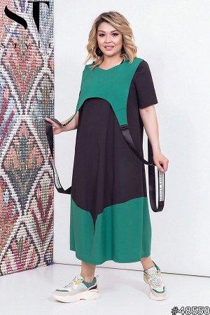 Платье двойка 48550 (платье+накидка)