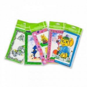 Детские носовые платки, 3 шт., 100% х/б