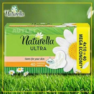 NATURELLA Ultra Женские гигиенические прокладки ароматизированные Camomile Normal Quatro, 40 шт