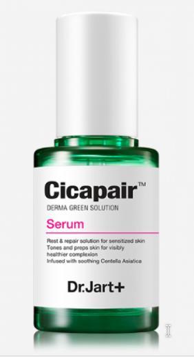 Dr.Jart+ Сыворотка для лица Успокаивающая для разглаживания кожи эссенция уход за лицом увлажнение крем корейская косметика Cicapair Serum, 50мл