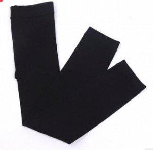 Кашемировые термо лосины черный цвет