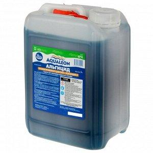 Альгицид Aqualeon непенящийся пролонгированного действия, 5 л (5 кг)